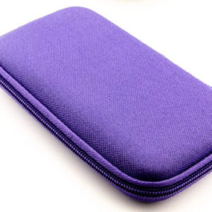 Hard Cover Sample Case - Purple