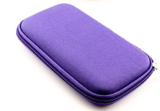 Hard Cover Sample Case - Purple