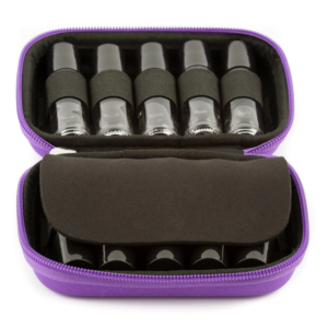 Hardcover Roller Bottle Case - Purple