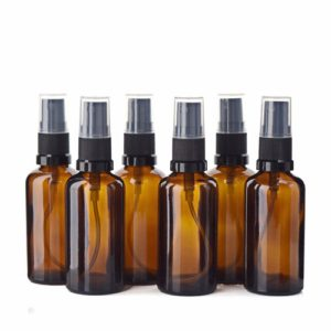 50ml Amber Glass Spray Bottle