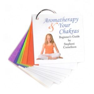 Aromatherapy & Your Chakras: Chakra Reference Cards on a Ring