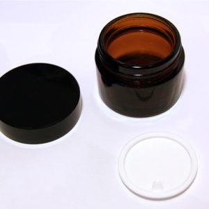 50ml Amber Glass Jar