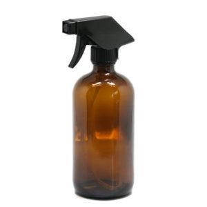 500ml Amber Glass Trigger Spray Bottle (2-pack)