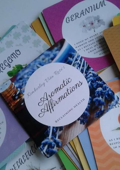 Aromatic Affirmations Cards Pack (52 oils)