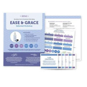 Ease & Grace: Blending Oils for Emotional Well-Being, Rollerball Workshop Kit