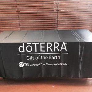 doTERRA Tablecloth Black