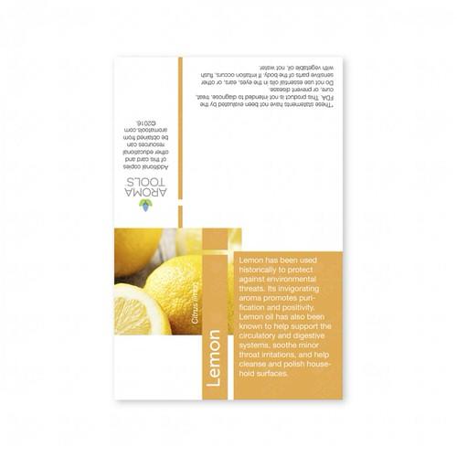 Sample Card - Lemon