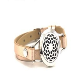 Diffuser Bracelet - Sunflower - Rose Gold