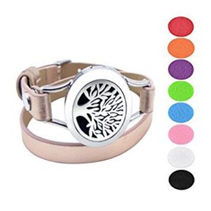 Diffuser Bracelet - Tree of Life - Rose Gold
