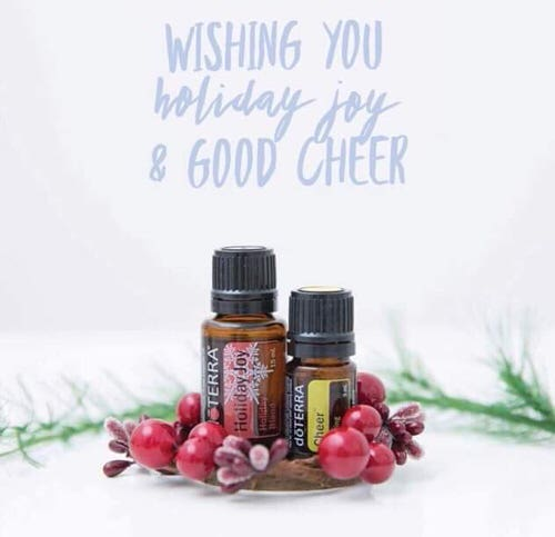 dōTERRA Cheer Christmas Card