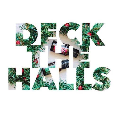 dōTERRA Deck The Halls Christmas Card