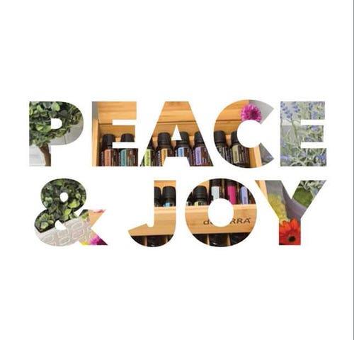 dōTERRA Peace & Joy Christmas Card